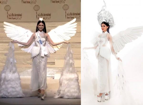 Á hậu Thùy Dung bị chỉ trích thiếu tôn trọng nhà thiết kế, làm mất giá trị bộ trang phục - ảnh 1