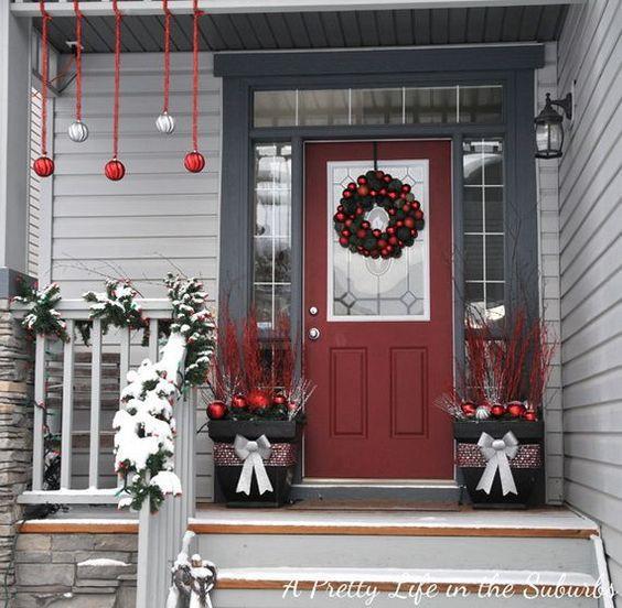 Những ý tưởng trang trí mặt tiền cho ngôi nhà đón Noel - Ảnh 4.