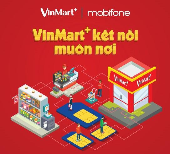 VinMart+ phân phối sim và gói cước di động MobiFone - Ảnh 3.