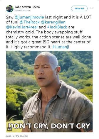 Phim mới của The Rock, Jack Black được giới phê bình khen ngợi - ảnh 3