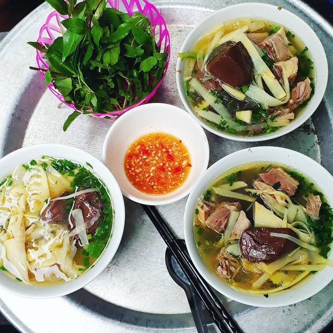Bên cạnh bún ngan Nhàn, Hà Nội cũng còn rất nhiều quán bún ngan ngon không kém