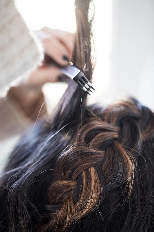 Làm điệu với 3 kiểu tết cực đơn giản dành cho các nàng tóc ngắn - Ảnh 21.