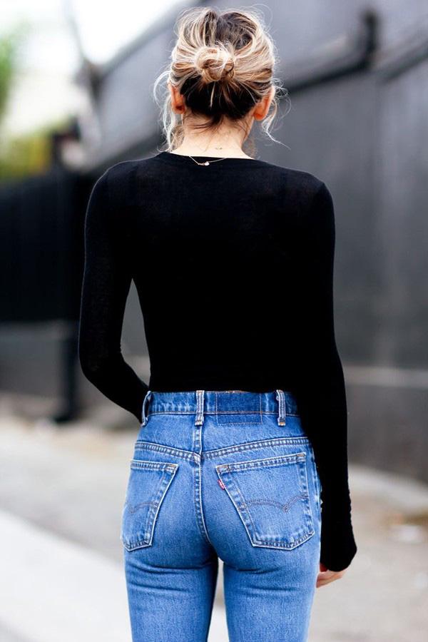 Vóc dáng mình thế nào thì mình chọn quần jeans như thế! - Ảnh 23.