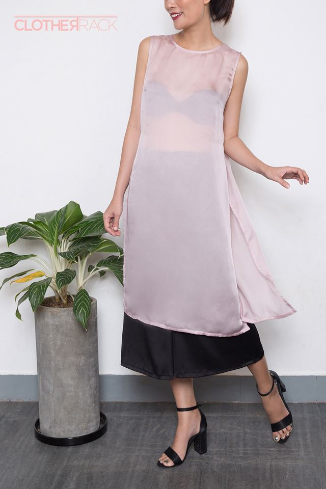 Những thiết kế áo dài cách tân thuần Việt giá dưới 1.5 triệu đẹp lung linh cho nàng diện Tết - Ảnh 10.
