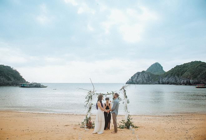Đám cưới bí mật đẹp như mơ có 1-0-2 của cặp đôi Tây bỏ trốn trên đảo Cát Bà - Ảnh 32.