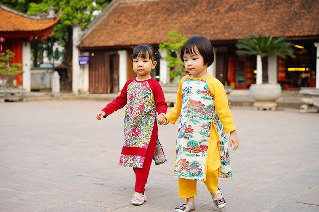 5 tiệm áo dài cách tân cực chất, giá dưới 1 triệu để đẹp cả Tết ở Hà Nội - Ảnh 10.