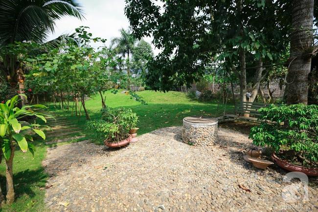 Nhà vườn xanh mát bóng cây, hoa nở đẹp cách Hà Nội 45 phút chạy xe - Ảnh 4