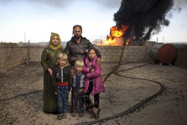 Ngày của cha: Những người cha trong cuộc chiến chống lại cái ác để bảo vệ con gái ở Iraq - Ảnh 4.