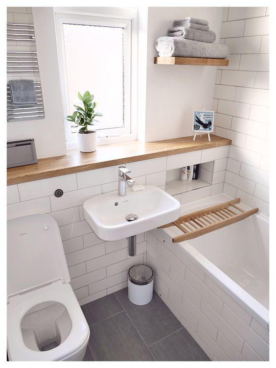 Phòng tắm nhỏ trở nên đáng yêu nhờ bài trí theo những cách này! - Ảnh 4.
