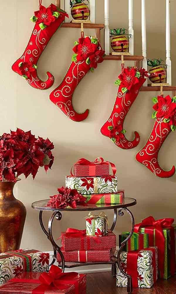 Ý tưởng trang trí cầu thang đơn giản mà lung linh để đón Giáng sinh đang tới gần - Ảnh 4.