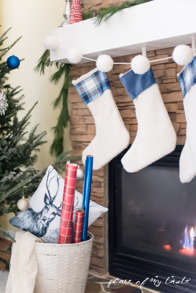 Trang trí nhà đón Noel bằng những chiếc tất - vừa lạ, vừa dễ thương, vừa dễ làm - Ảnh 4.