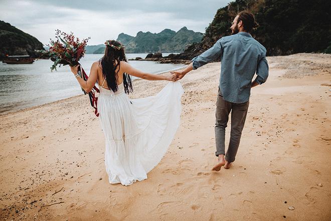 Đám cưới bí mật đẹp như mơ có 1-0-2 của cặp đôi Tây bỏ trốn trên đảo Cát Bà - Ảnh 34.