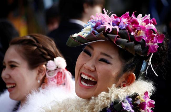 Các cô gái Nhật Bản xinh đẹp trong lễ trưởng thành - Ảnh 5.