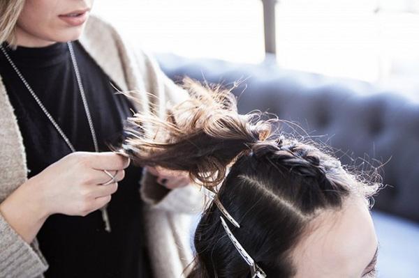 Làm điệu với 3 kiểu tết cực đơn giản dành cho các nàng tóc ngắn - Ảnh 5.