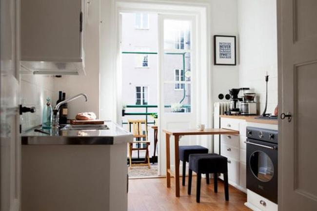 4 mẫu bàn ăn nhỏ nhưng có võ, cực dễ kiếm và dễ ứng dụng cho nhà chật - Ảnh 7.