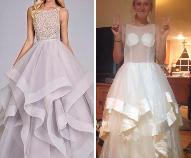 Những bộ váy prom thảm họa mua online biến công chúa thành phù thủy trong chớp mắt - Ảnh 6.