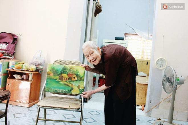 Gặp cụ bà 97 tuổi được phong sành sỏi Internet nhất Việt Nam: Tôi bị ung thư 3 năm nay, nhưng còn sức thì còn học! - Ảnh 5.