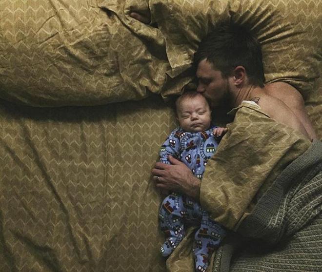 18 khoảnh khắc tình như cái bình giữa bố và con - Ảnh 5.