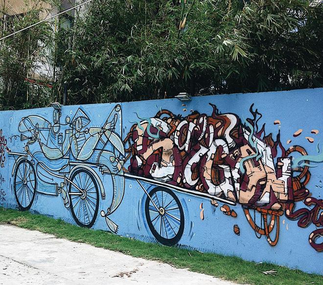 Vạn lần ngược xuôi Sài Gòn nhưng không phải ai cũng thấy những bức tranh tường chất ngất như thế! - Ảnh 5.