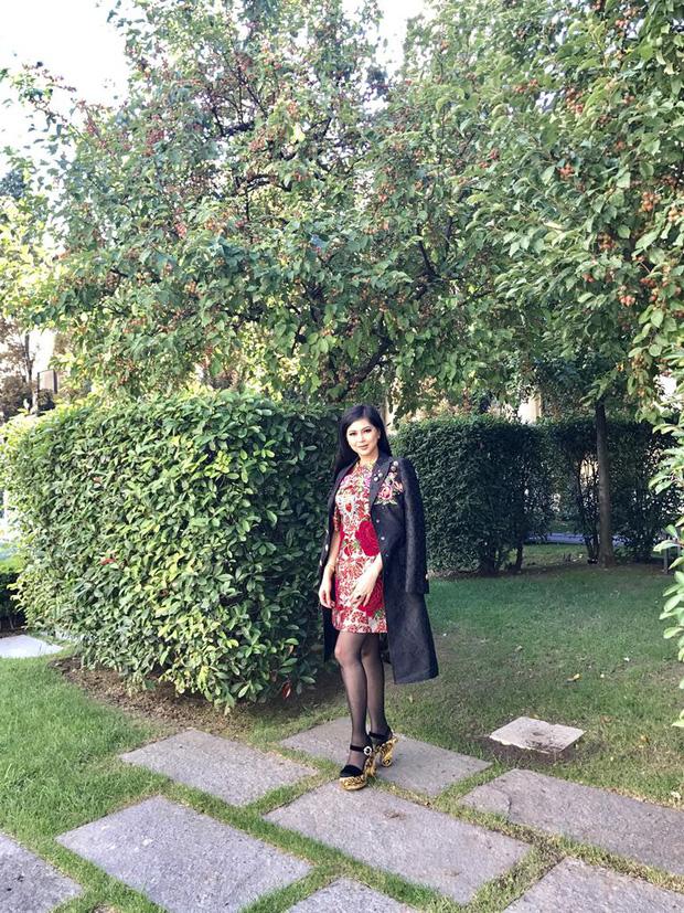 Hóa ra Thảo Tiên - em chồng Hà Tăng mới là mỹ nhân Việt càn quét front-row từ London đến Milan Fashion Week - Ảnh 5.