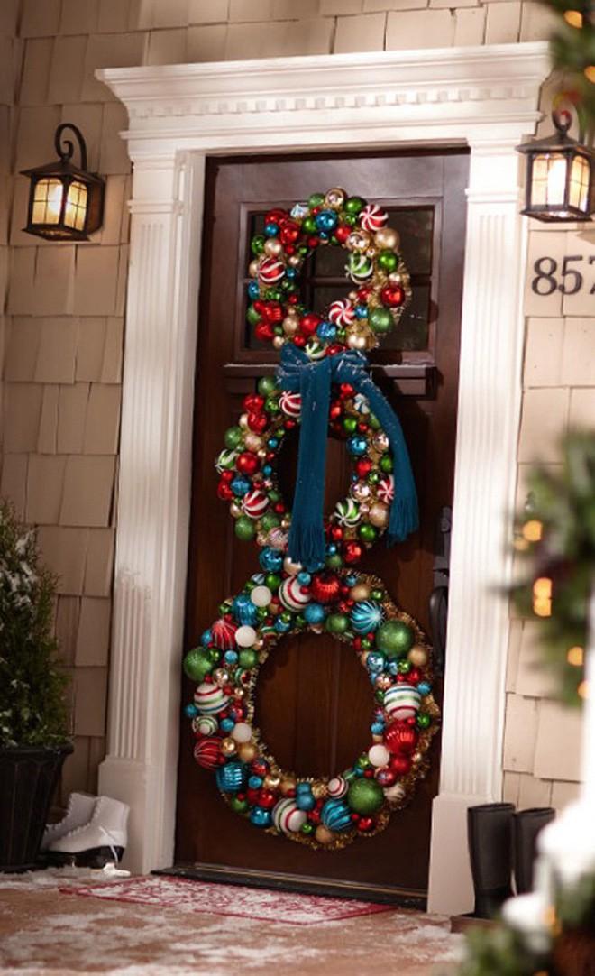 Những ý tưởng trang trí mặt tiền cho ngôi nhà đón Noel - Ảnh 5.