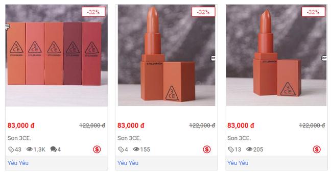 Cảnh báo: Son 3CE fake bán công khai, giá rẻ kinh hoàng nhưng vẫn có người mua - Ảnh 6.