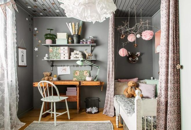 Nếu được sở hữu những phòng ngủ lung linh như thế này hẳn bé nhà bạn sẽ rất thích - Ảnh 6.