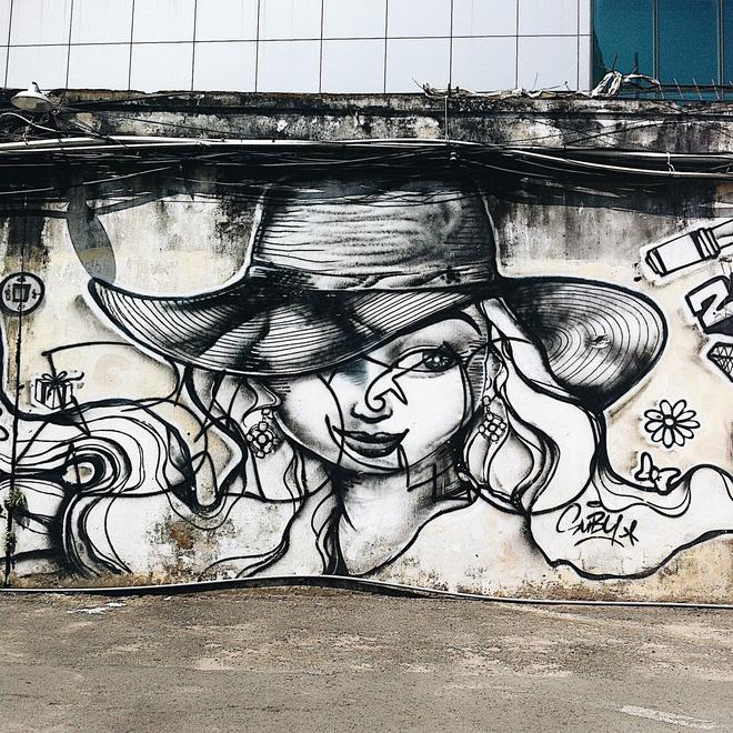 Vạn lần ngược xuôi Sài Gòn nhưng không phải ai cũng thấy những bức tranh tường chất ngất như thế! - Ảnh 6.