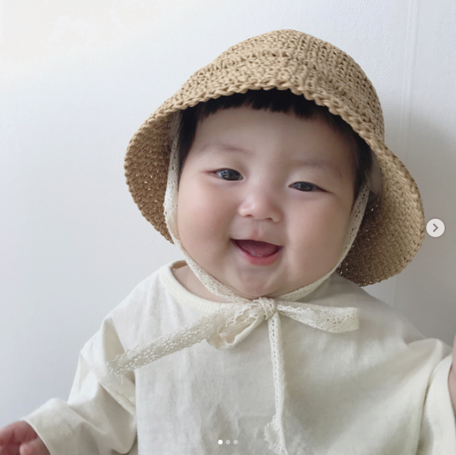 Cô nhóc người Hàn sở hữu cặp má bánh bao trong truyền thuyết siêu đáng yêu - Ảnh 10.
