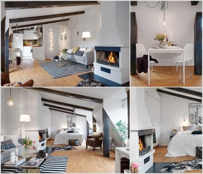 Nếu bạn đang sống trong căn hộ áp mái, đó là cơ hội tuyệt vời để trang trí thành không gian cao cấp - Ảnh 6.