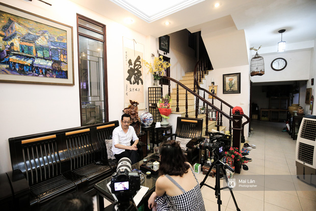 Lần đầu hé lộ ngôi nhà xinh xắn, rợp bóng cây xanh ngoài đời thật của ông trùm Phan Thị - NSND Hoàng Dũng - Ảnh 6.