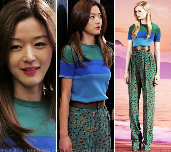 Diện đồ hiệu đẹp hơn cả người mẫu, đó chính là mợ chảnh Jeon Ji Hyun - Ảnh 6.