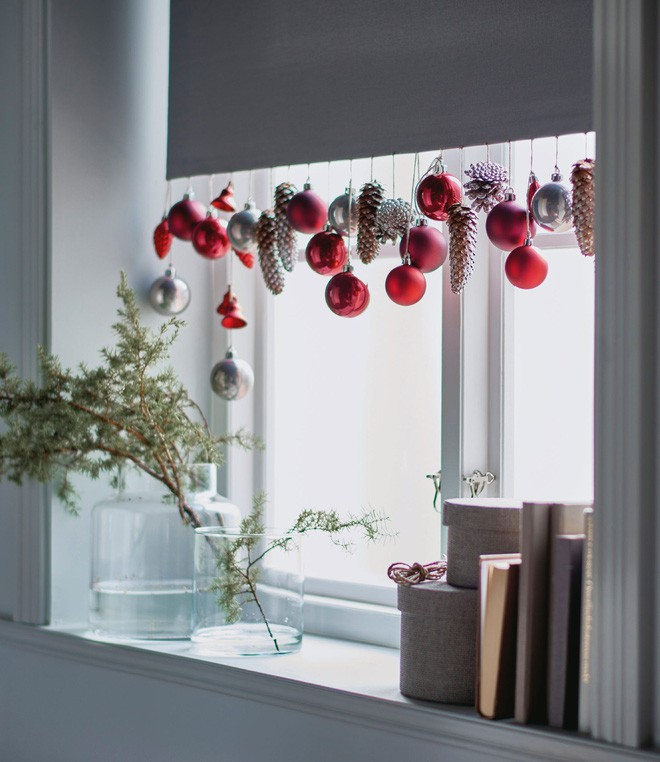 Mang không khí Giáng sinh đến từng khung cửa sổ nhà bạn với hàng loạt ý tưởng trang trí sáng tạo - Ảnh 6.