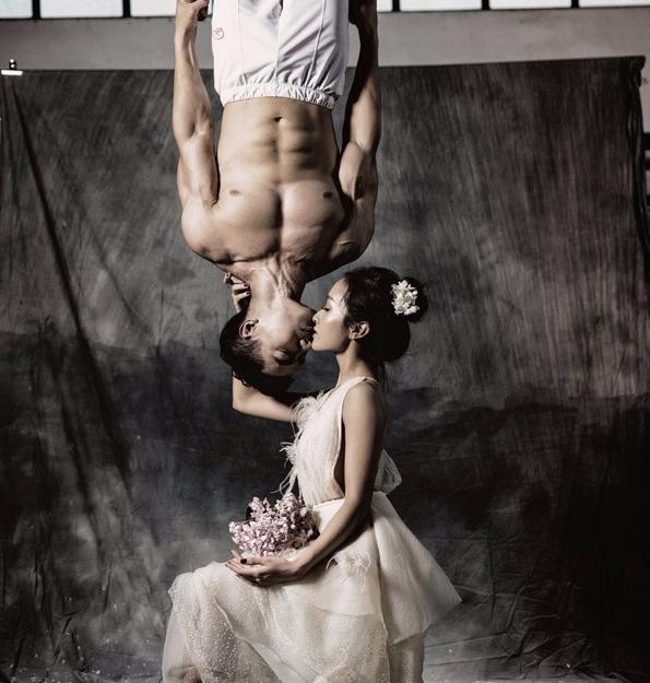 VĐV thể hình và diễn viên múa kết hôn thôi mà ảnh cưới có nhất thiết phải khiến chị em phát hờn vì đẹp thế không? - Ảnh 7.