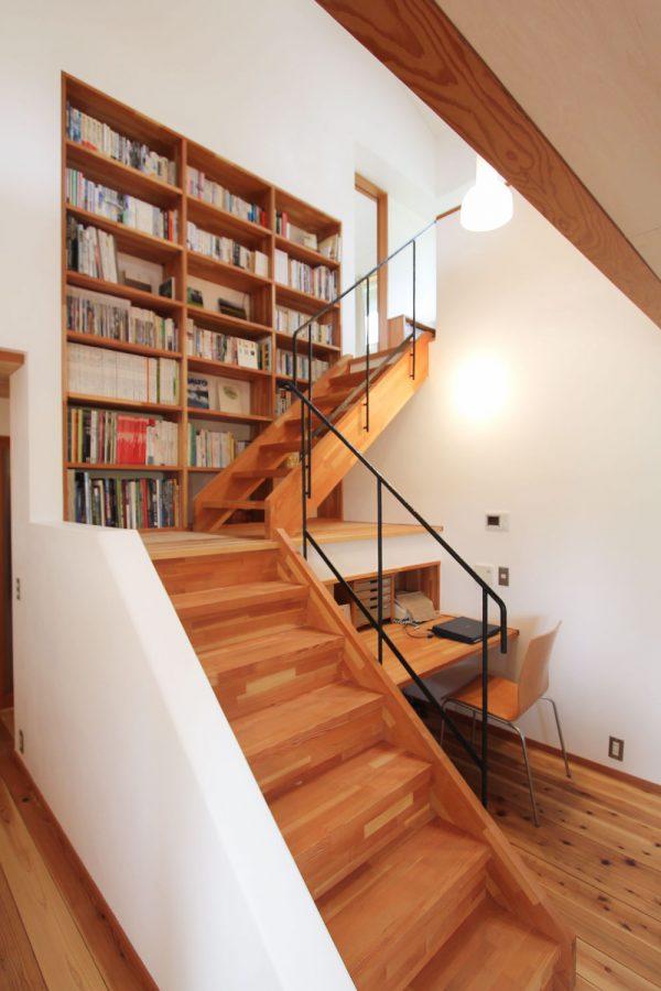 20 thiết kế giá sách kết hợp với cầu thang vô cùng đẹp mắt - Ảnh 7.