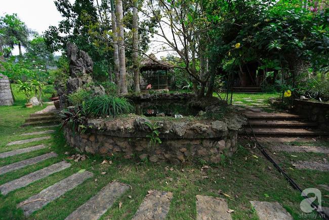 Nhà vườn xanh mát bóng cây, hoa nở đẹp cách Hà Nội 45 phút chạy xe - Ảnh 7