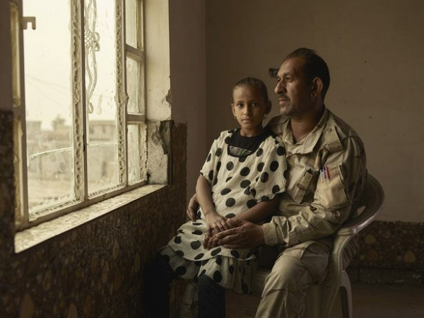 Ngày của cha: Những người cha trong cuộc chiến chống lại cái ác để bảo vệ con gái ở Iraq - Ảnh 7.