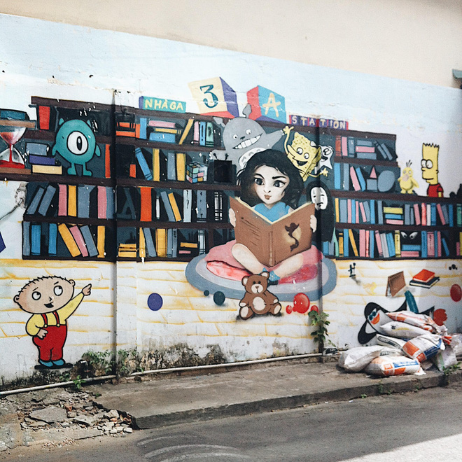Vạn lần ngược xuôi Sài Gòn nhưng không phải ai cũng thấy những bức tranh tường chất ngất như thế! - Ảnh 7.