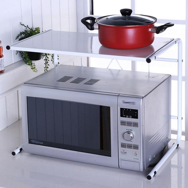 13 mẫu giá kệ để lò vi sóng tiện dụng cho nhà bếp nhỏ - Ảnh 7.