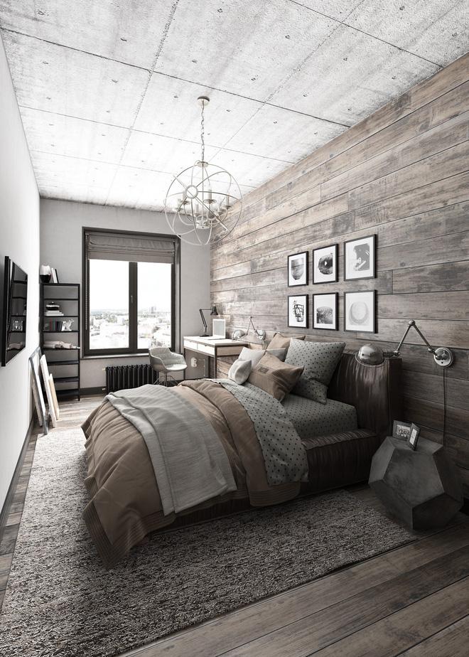 Hai căn hộ 35m² với phong cách trang trí công nghiệp nhưng lãng mạn đến khó tin - Ảnh 7.