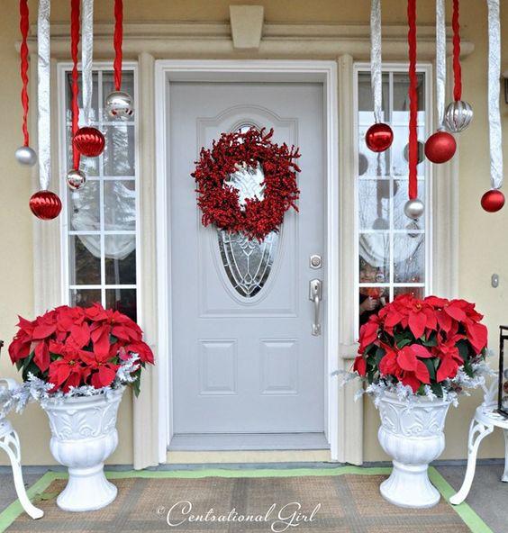 Những ý tưởng trang trí mặt tiền cho ngôi nhà đón Noel - Ảnh 7.