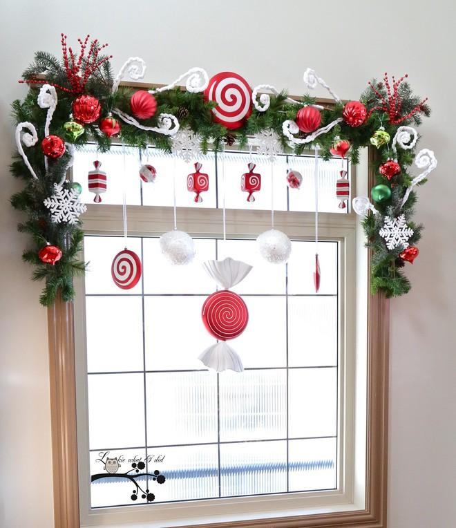 Mang không khí Giáng sinh đến từng khung cửa sổ nhà bạn với hàng loạt ý tưởng trang trí sáng tạo - Ảnh 7.