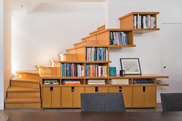 20 thiết kế giá sách kết hợp với cầu thang vô cùng đẹp mắt - Ảnh 8.