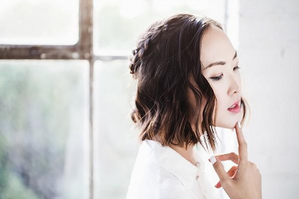 Làm điệu với 3 kiểu tết cực đơn giản dành cho các nàng tóc ngắn - Ảnh 8.