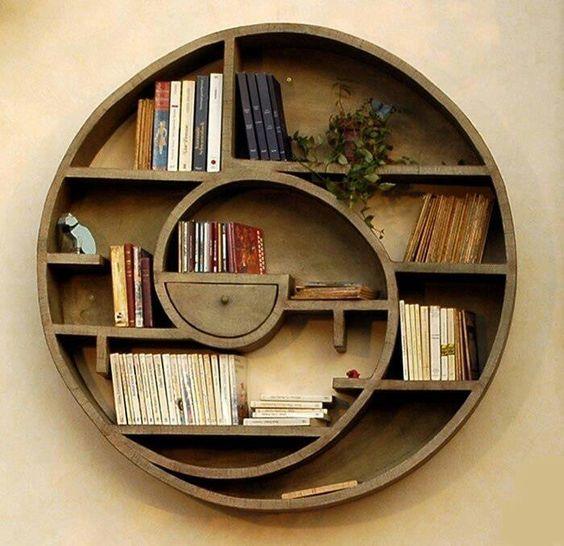 Những mẫu kệ tròn làm nổi bật không gian sống của bạn - Ảnh 8.