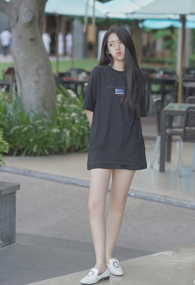 Cô bạn Trung Quốc dáng đẹp, mặt xinh đến mức con gái cũng ưng muốn xỉu! - Ảnh 8.