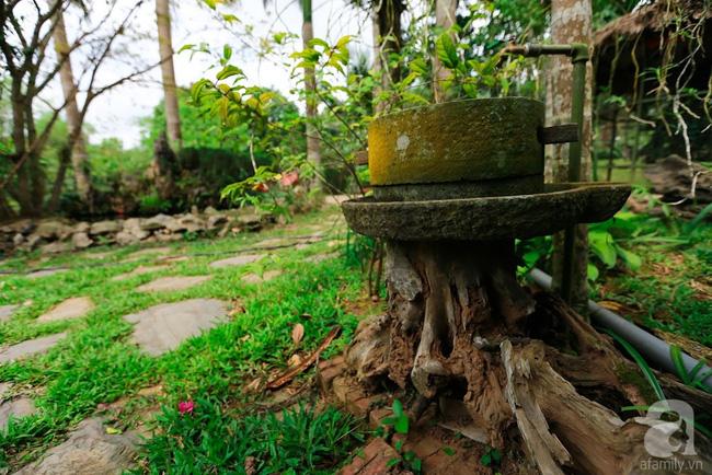 Nhà vườn xanh mát bóng cây, hoa nở đẹp cách Hà Nội 45 phút chạy xe - Ảnh 8