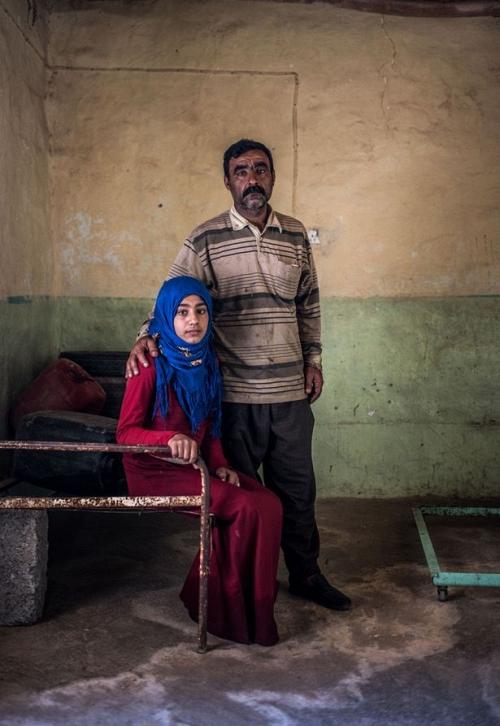 Ngày của cha: Những người cha trong cuộc chiến chống lại cái ác để bảo vệ con gái ở Iraq - Ảnh 8.