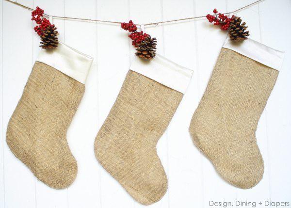 Trang trí nhà đón Noel bằng những chiếc tất - vừa lạ, vừa dễ thương, vừa dễ làm - Ảnh 8.