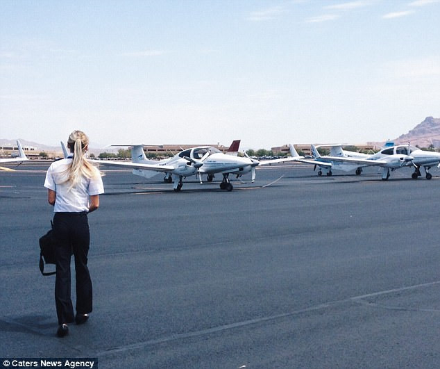 Cuộc sống đáng mơ ước của nữ phi công 9X - Ảnh 10.